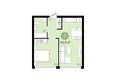 ЕВРОПЕЙСКИЙ БЕРЕГ, дом 25: 1-комнатная 40,9 кв.м