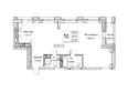 Жилой комплекс ЯДРИНЦЕВСКИЙ КВАРТАЛ: 1-комнатная студия 79,7 кв.м. Блок-секция 1