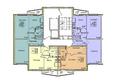 ВЕНЕЦИЯ-2, дом 6: Подъезд 2. Планировка 1-12 этажей