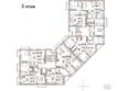 Жилой комплекс Эко-квартал Flora&Fauna (Флора и Фауна), блок Д: Планировка 3 этажа