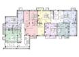 СОВРЕМЕННИК мкр, 2 оч, 14-26 б/с: Блок-секция 14. Планировка 1 этажа