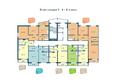 Жилой комплекс НА ФАДЕЕВА, дом 5: Подъезд 1. Планировки 6-8 этажей