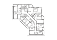 Жилой комплекс ВЕСЕННИЙ, 5 этап, дом 2: Блок-секция 2. Планировка 2 этажа