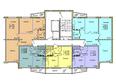 ВЕНЕЦИЯ-2, дом 6: Подъезд 1. Планировка 1-12 этажей