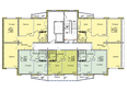 Жилой комплекс ВЕНЕЦИЯ-2, дом 4: Подъезд 3. Планировка типового этажа