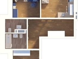 3-комнатная квартира, 70.13  м², 2-5/24 этаж
