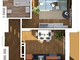 1-комнатная квартира, 36.43  м², 10/24 этаж