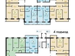 Продается 1-комнатная квартира Зеленая ул, 41.3  м², 1790000 рублей