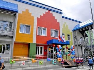 Новый детский сад заработал в микрорайоне Первокирпичный