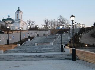 Философский сквер появится около Иерусалимской лестницы в Иркутске