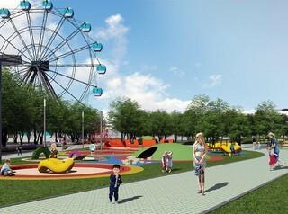 Затулинский парк в Новосибирске благоустроят к сентябрю 2021 года