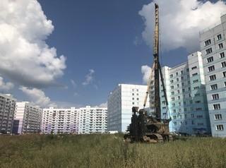В жилмассиве «Просторный» началось строительство детского сада