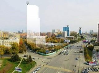 Самый высокий дом Новосибирска хотят построить на Октябрьской магистрали