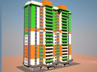На улице Базарной вместо бараков появится жилой 19-этажный дом