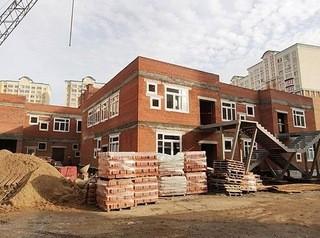 Для детского сада на Московском проспекте построена коробка здания