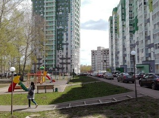 В кемеровском жилом комплексе «Березовая роща» начали строить детский сад