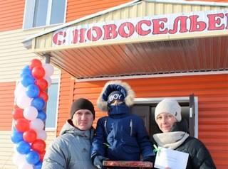 В Ленинск-Кузнецком заселены два социальных дома
