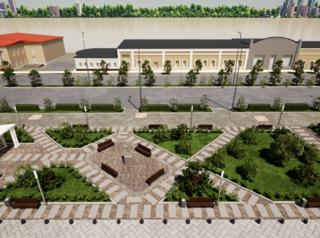 В Улан-Удэ выбрали концепцию благоустройства территории возле Гостиных рядов