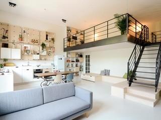Сделать второй этаж в квартире с высокими потолками стало проще