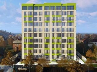 Началось строительство новой десятиэтажки на улице Песчаной