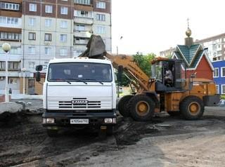 При реконструкции сквера в микрорайоне Шалготарьян установят новый фонтан