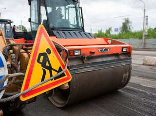 Дорожники приступили к ремонту Бердского шоссе