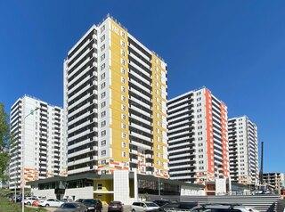 В жилом комплексе «Лесной массив» началось заселение двух новых домов