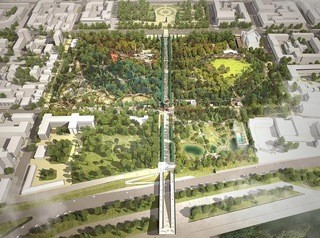 Центральный парк имени Горького начнут реконструировать в этом году