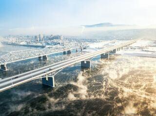 Съезд счетвертого моста в микрорайонПашенный построят до2020 года