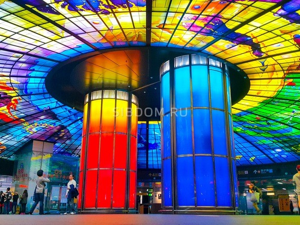 Станция метро Formosa Boulevard (Гаосюн)