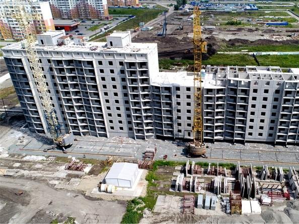 Фото ЧИСТАЯ СЛОБОДА, дом 17, Ход строительства август 2018