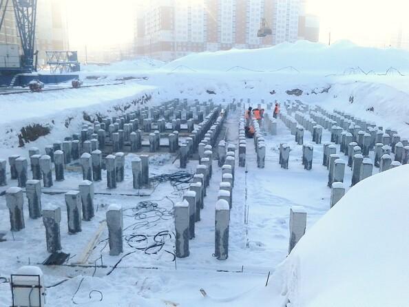 Фото Жилой комплекс СИБИРСКИЕ ПРОСТОРЫ, дом 1, корпус 4, Ход строительства декабрь 2018