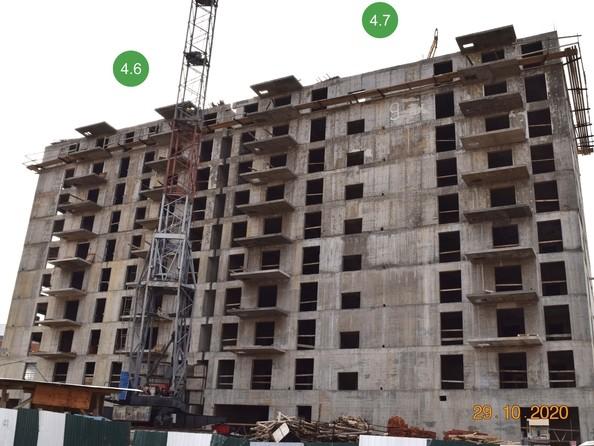 Ход строительства 29 октября 2020