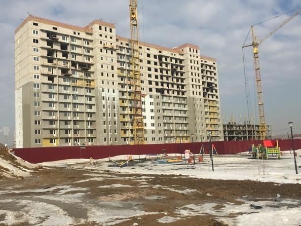 Фото Жилой комплекс МАТРЕШКИН ДВОР 95/4, дом 1, 3 б/с, Ход строительства апрель 2019