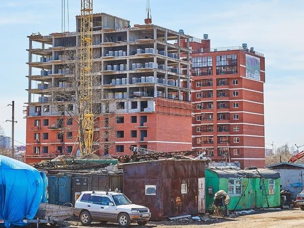 Фото Жилой комплекс ПРОСТОР, 1 б/с, Ход строительства 22 апреля 2019