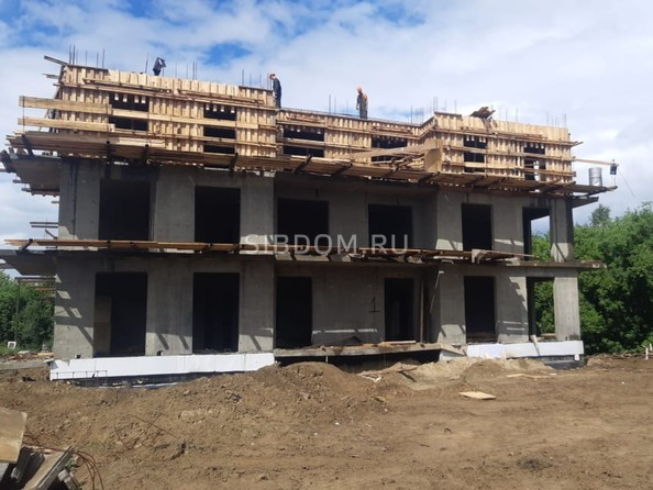Ход строительства 5 августа 2020