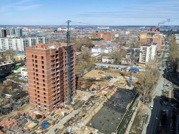 Фото Жилой комплекс ТРАДИЦИИ, дом 2, Ход строительства апрель 2019