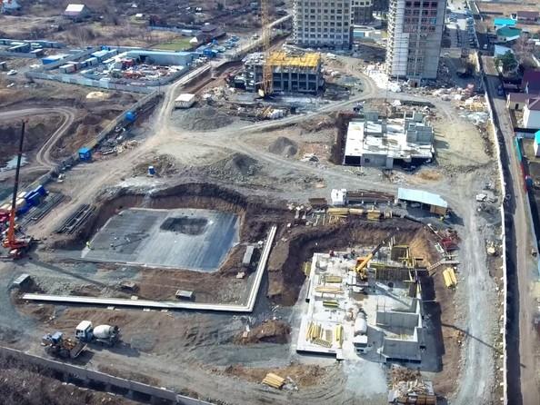 Фото Жилой комплекс ЮЖНЫЙ, дом «Гранатовый», Ход строительства апрель 2019