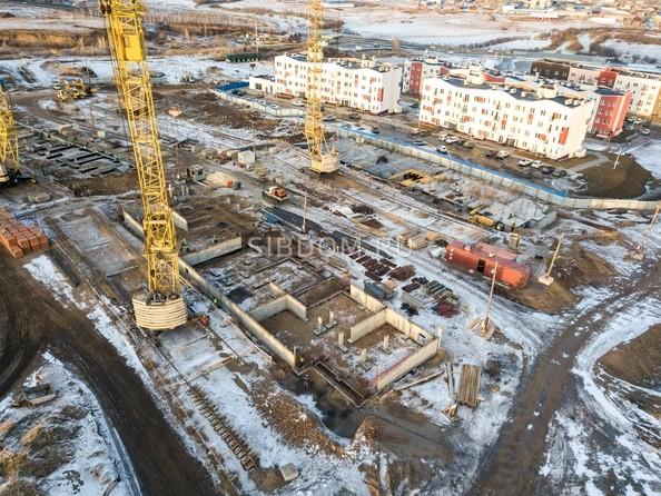 Фото Жилой комплекс ЖИВЁМ эко-район, 3 квартал, дом 3, Ход строительства 25 февраля 2019