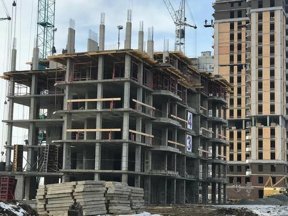 Фото Жилой комплекс НОВАЯ ВЫСОТА, дом 2, Ход строительства март 2019