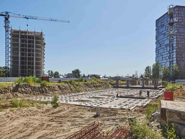 Фото Жилой комплекс ЯСНЫЙ БЕРЕГ, дом 10, б/с 1-3 , Ход строительства июль 2018