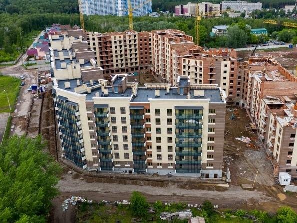 Фото Академгородок, дом 1, корп 1, Ход строительства 24 июня 2019