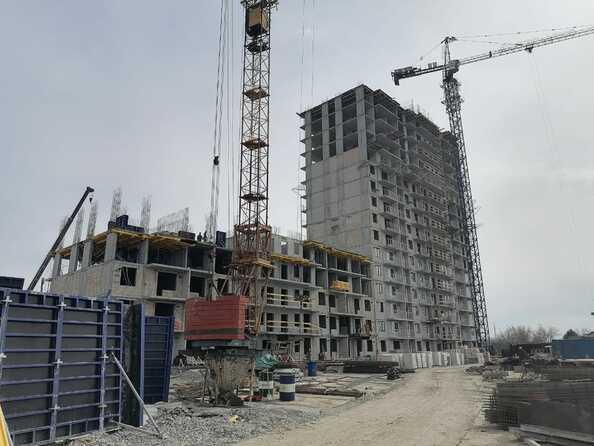 Ход строительства 30 апреля 2021
