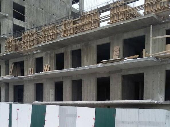 Ход строительства 6 января 2021