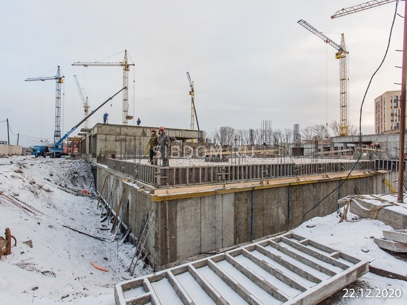 Ход строительства 22 декабря 2020