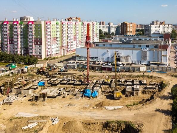 Фото Жилой комплекс КОМСОМОЛЬСКИЙ , Ход строительства 10 августа 2018