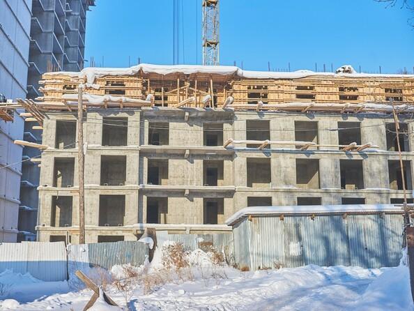 Фото Жилой комплекс ГРАНД-ПАРК, б/с 1.1, Ход строительства 9 января 2018
