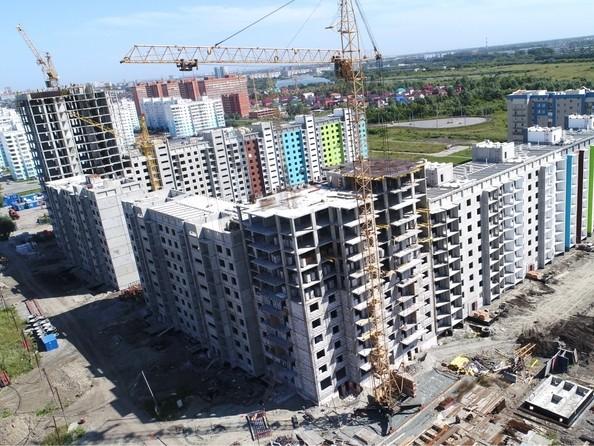 Фото Жилой комплекс ЧИСТАЯ СЛОБОДА, дом 32, Ход строительства август 2019