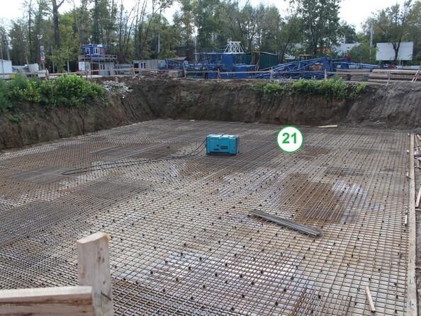 Фото Жилой комплекс НОВЫЙ, б/с 21 , Ход строительства Сентябрь 2019