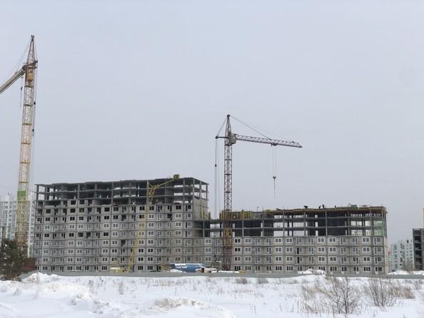 Фото ВРЕМЕНА ГОДА, дом 112, Ход строительства январь 2019